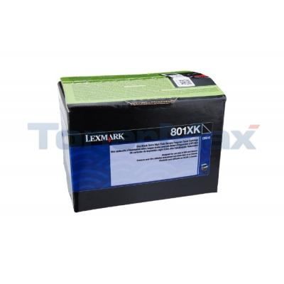 LEXMARK CX510 TONER CARTRIDGE BLACK RP 8K